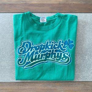 BAND TEE - Dropkick Murphys size M